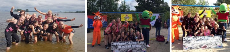 B1 en C1 NK beachhandball
